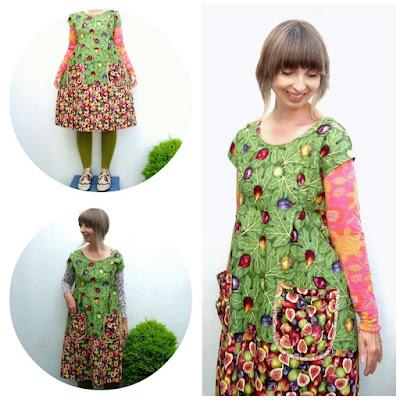 Autumn wardrobe essential dress *with figs*