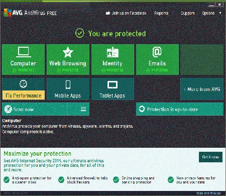 avg antivirus free trial download