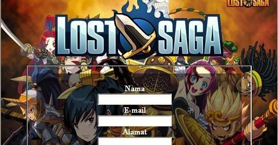Nomor Serial High Speed Download Lost Saga Offlinel