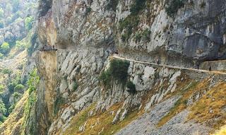 Ruta del Cares, tramo reparado tras un derrumbe