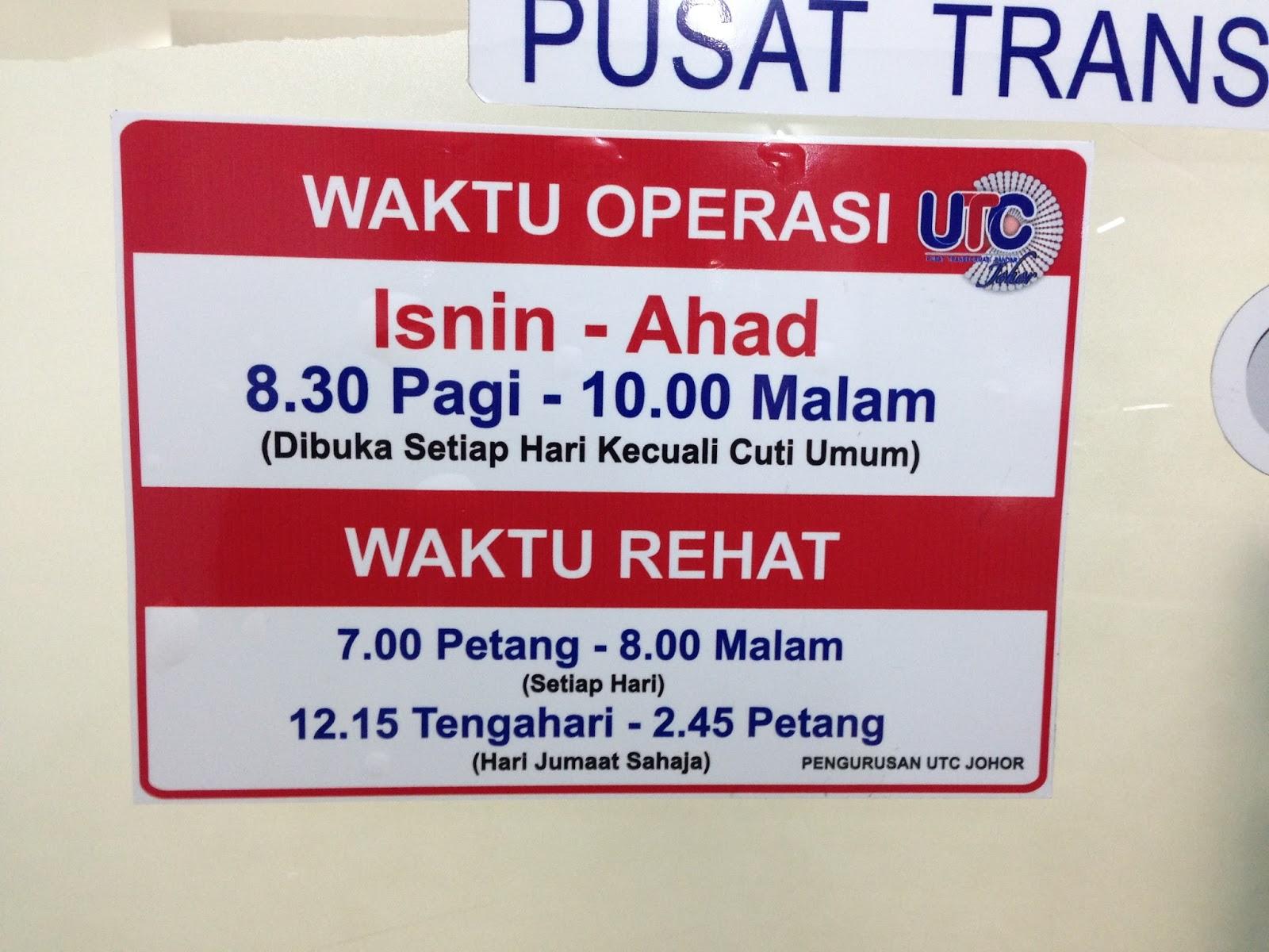 Past Present Future Utc Johor