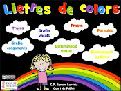 Lletres de color