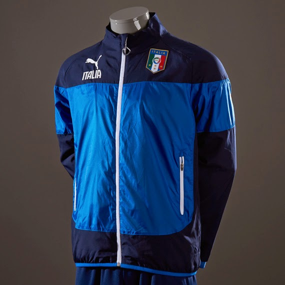 Italy 2014 FIFA World Cup Leisure Jacket Produk Puma