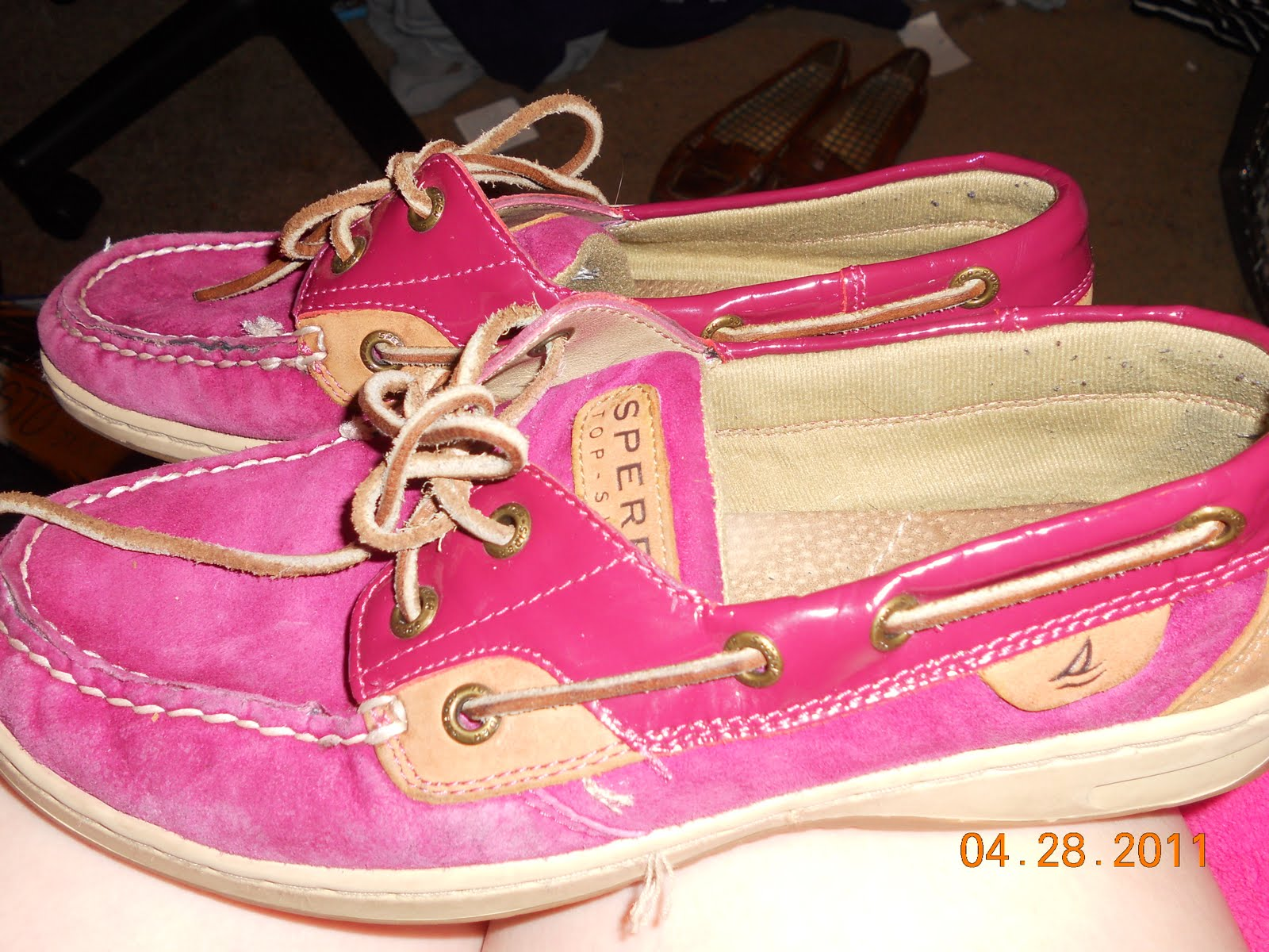 Black Sperry Boat Shoes Boys