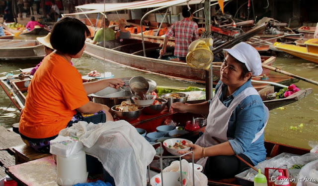 Floating Market – Boat Noodle Stall_Sumber guanchuaphotography