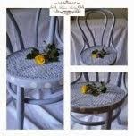 Bojanje stare Thonet stolice