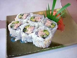 Resep Sushi California Roll  | Cara Membuat Sushi California Roll