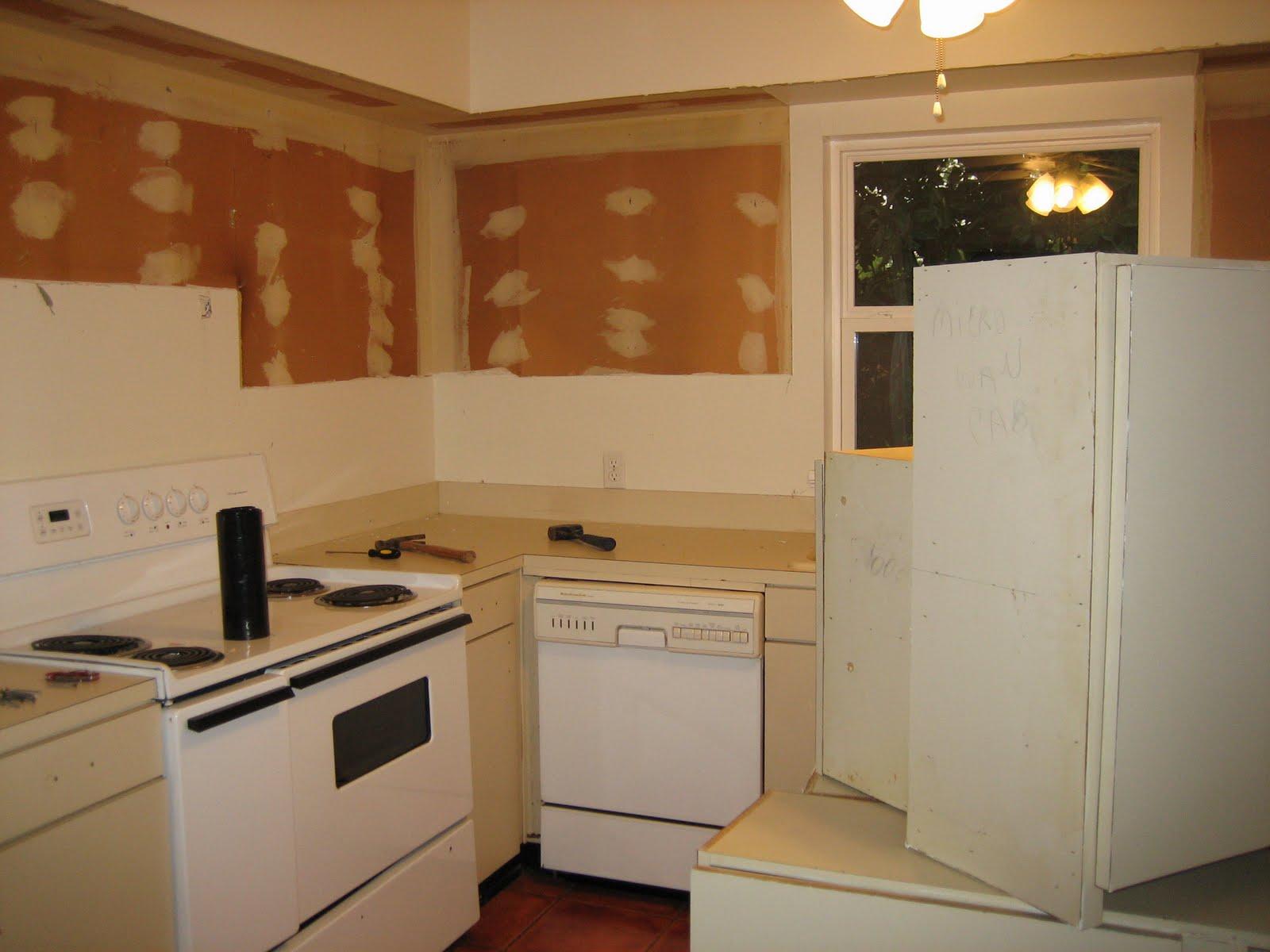 Fur Down Kitchen Cabinets