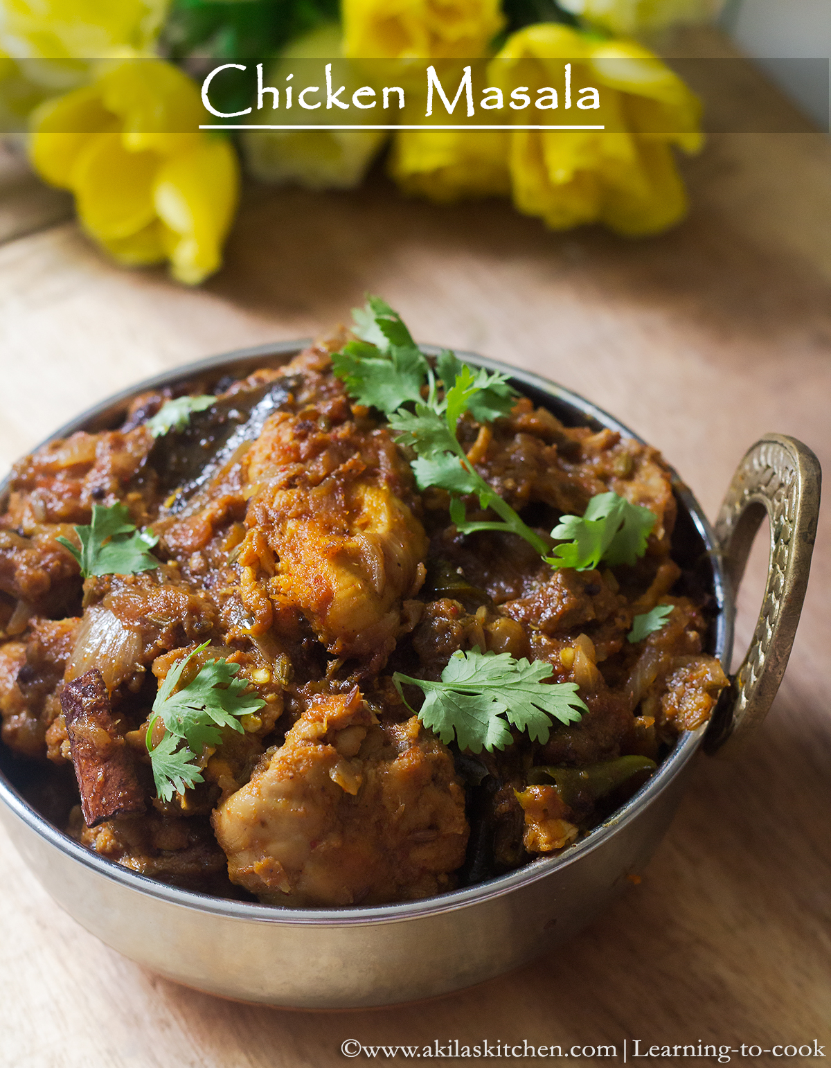 chicken masala for beginners