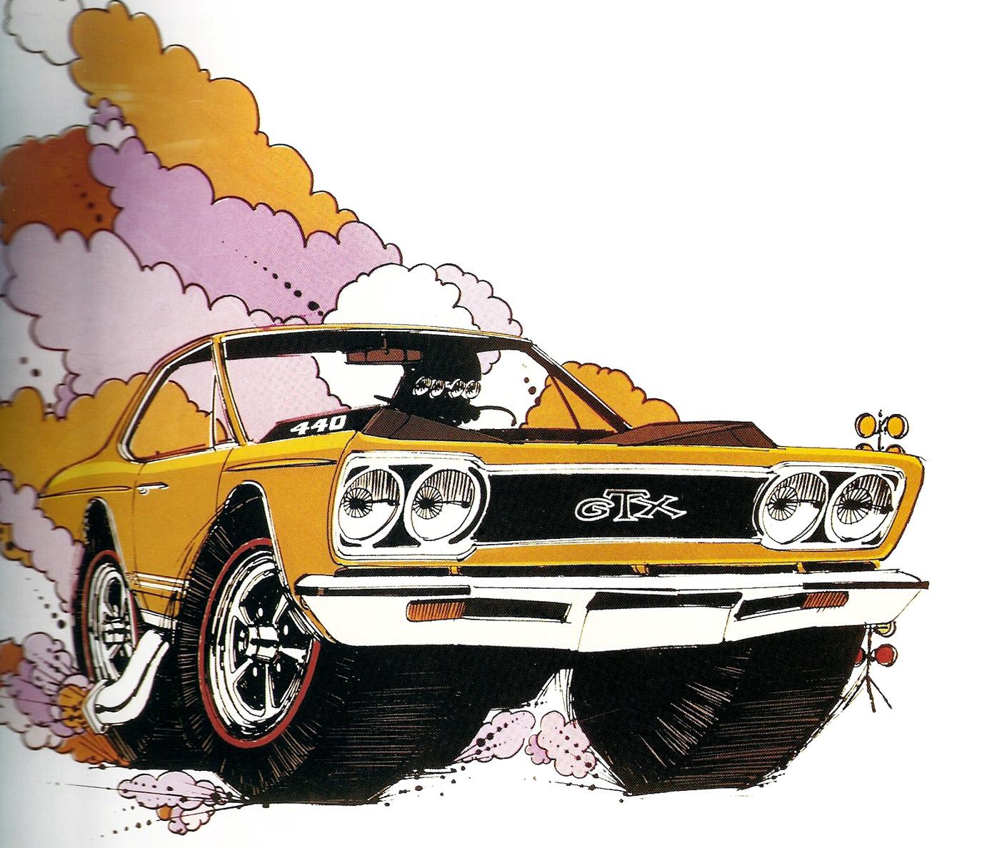 Just A Car Guy: 1969 Mopar advertising art