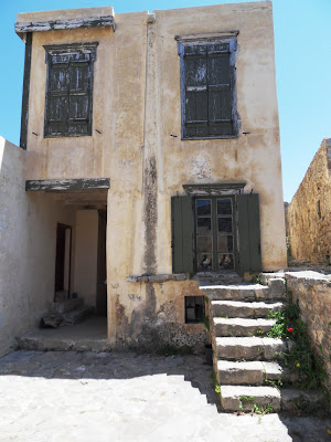 Deserted houses on Spinalonga