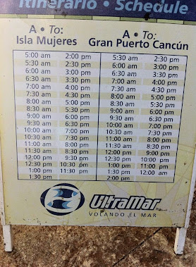 Ultramar Ferry Schedule