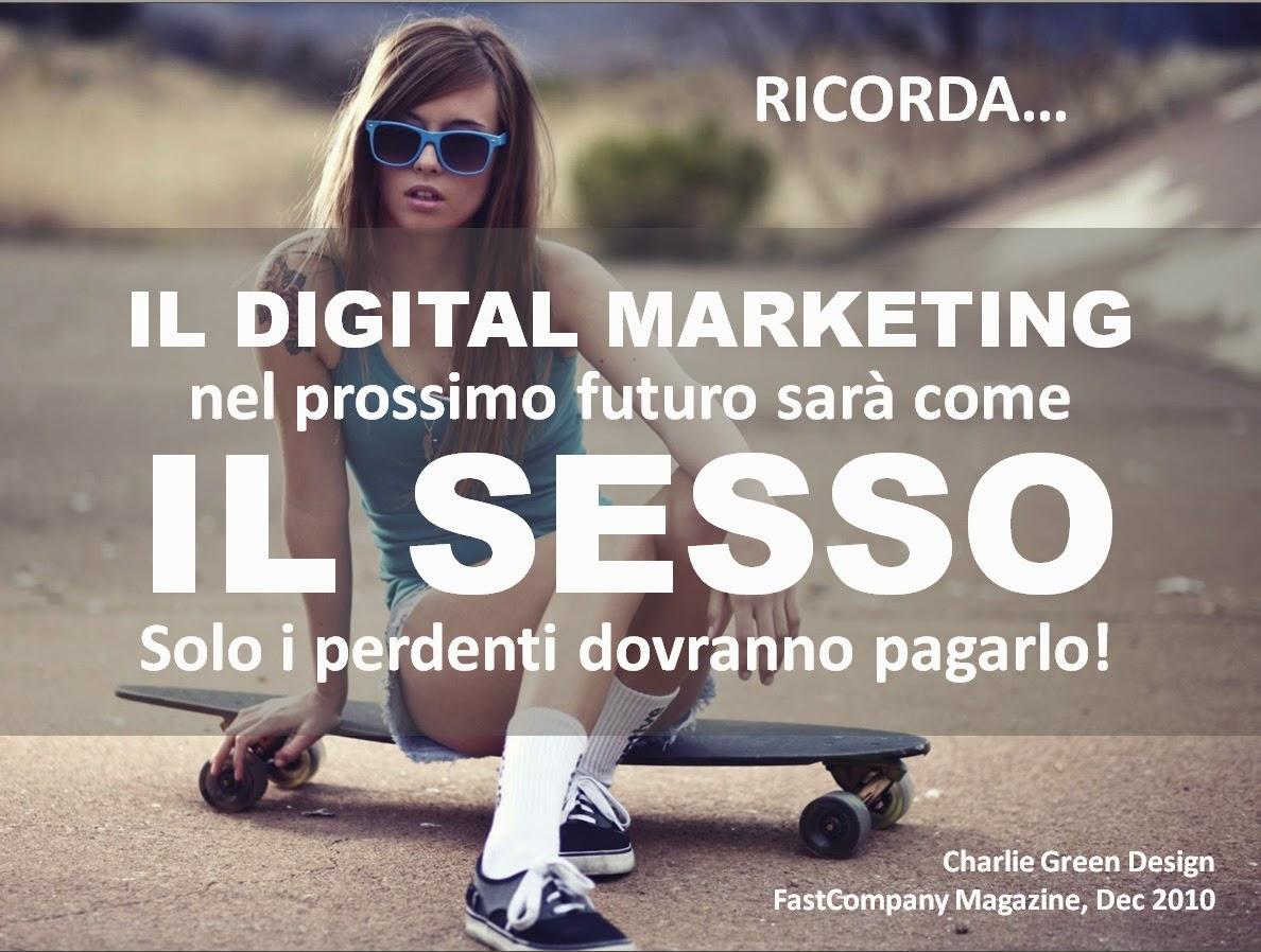 digital marketing è come il sesso