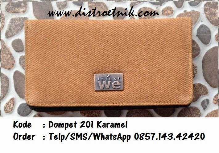 dompet jeans it just we wt 201 karamel