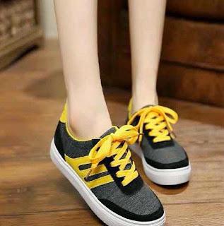 Wedges heels Sandal Sepatu wanita murah