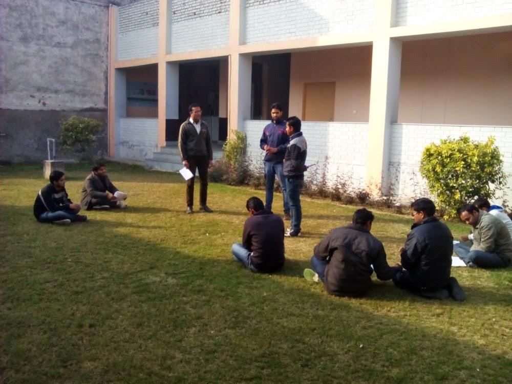 The Indian Stammering Association: AMU Communication workshop