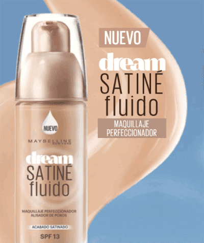 Dream satine fluido de Maybelline