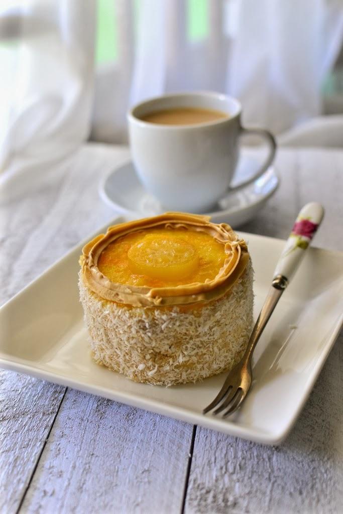 Sponge Cake With Emulsifier Recipe