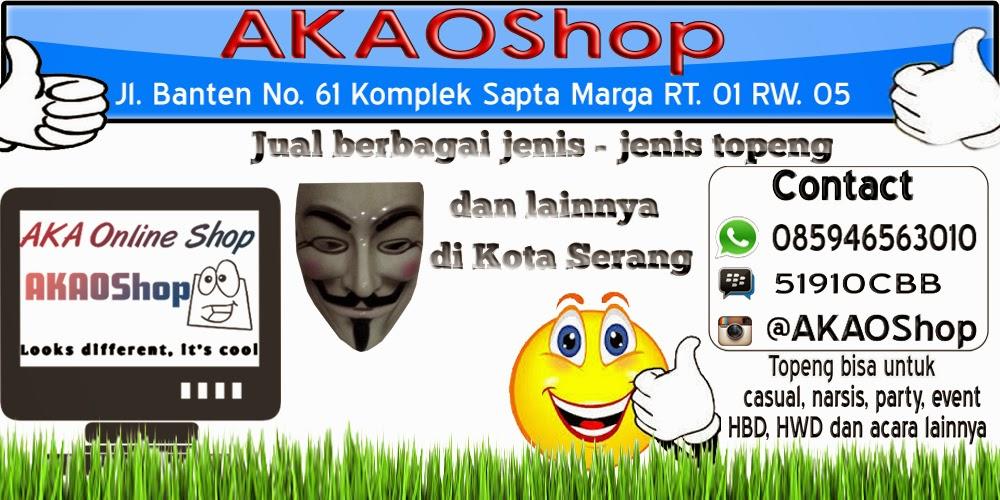 Jual Topeng Murah Daerah Kota Serang Banten hanya di AKAOShop