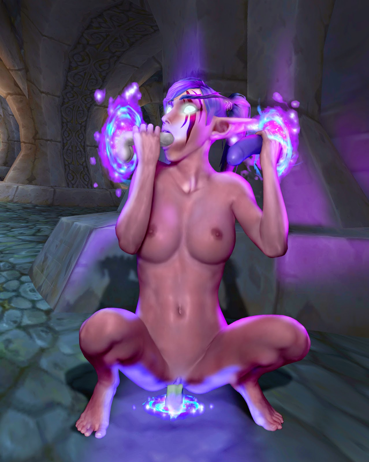 Nightelf 3d sex xxx movies