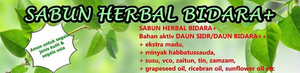 Jual Sabun Bidara Herbal