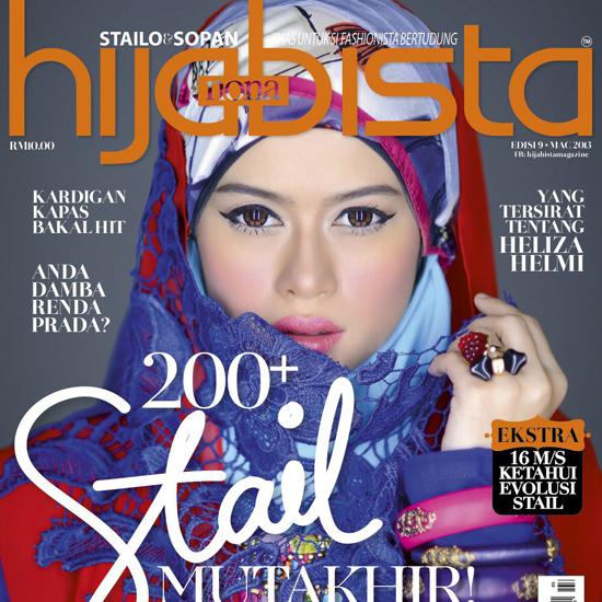 Majalah Hijabista Tampilkan Blogger Berhijab Cun