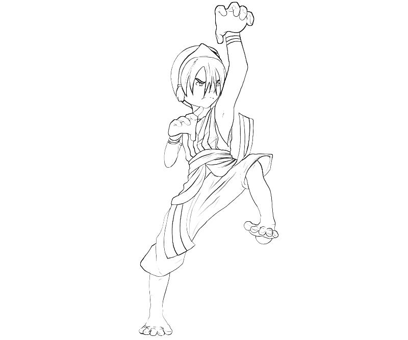 printable-avatar-toph-action_coloring-pages