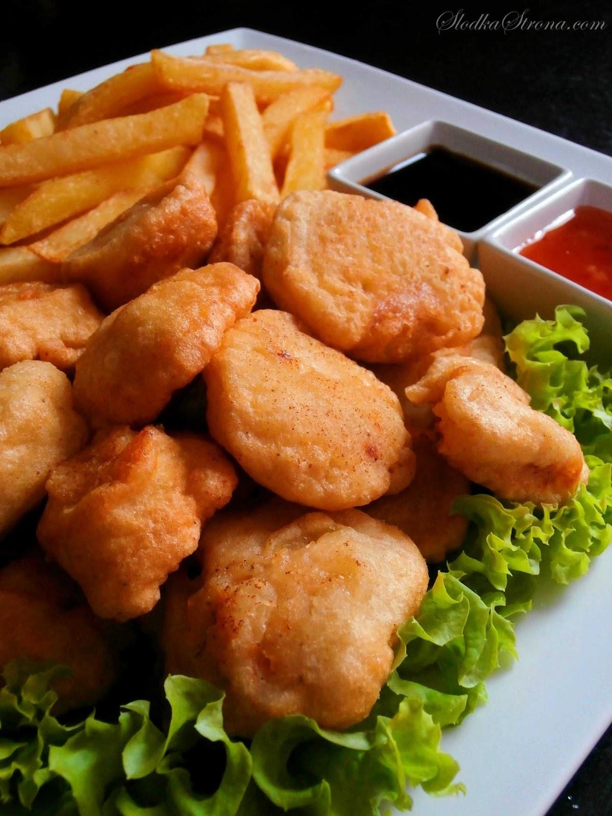 Kurczak w Cieście Naleśnikowym - Przepis - Słodka Strona