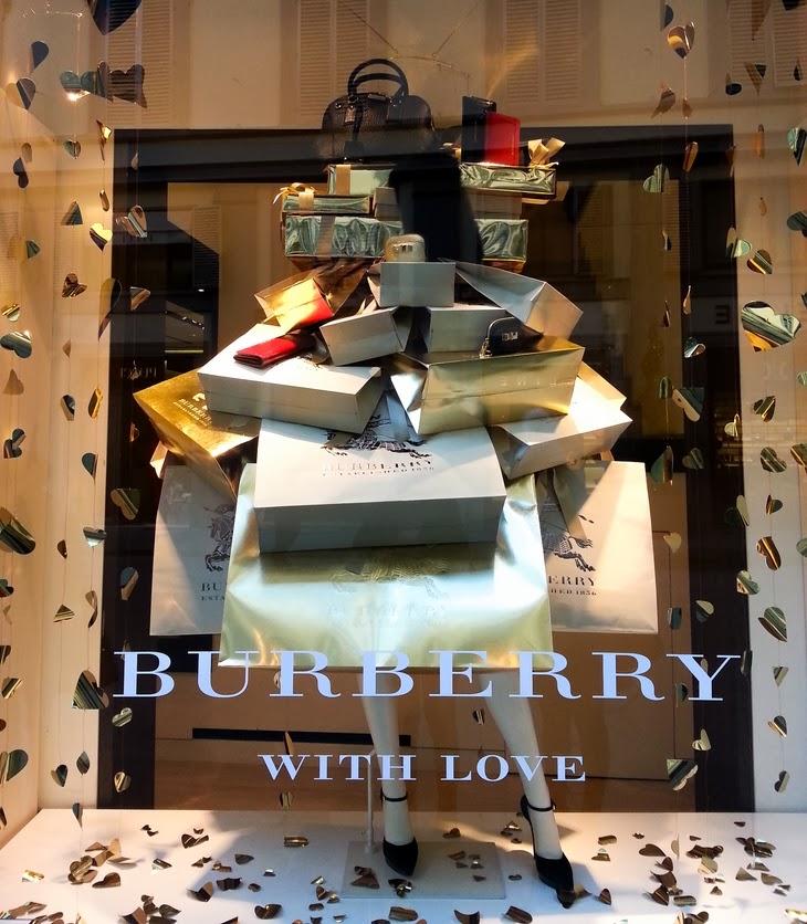 Firenze Burberry vetrina thesparklingcinnamon