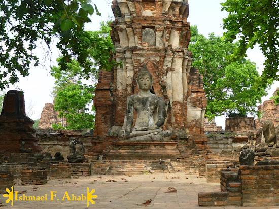 Buddha statue in Ayutthaya Historical Park