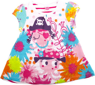 Tuc Tuc Love Pirate - Girls Jersey Dress