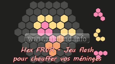 Hex FRVR - Jeu flash pour chauffer vos méninges