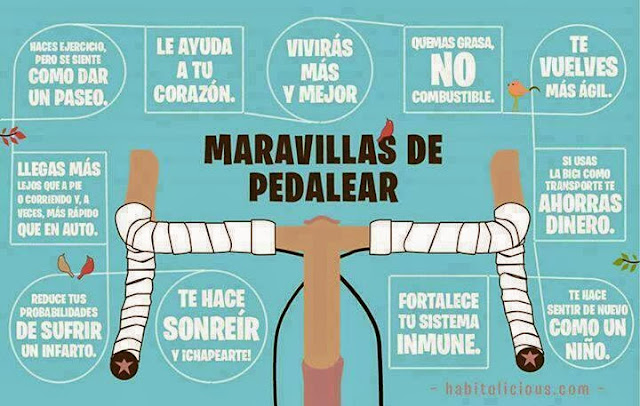 Beneficios de pedealear