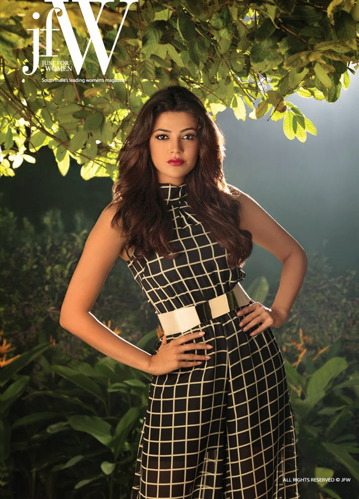 Phrase and Kajal agarwal cover magazine