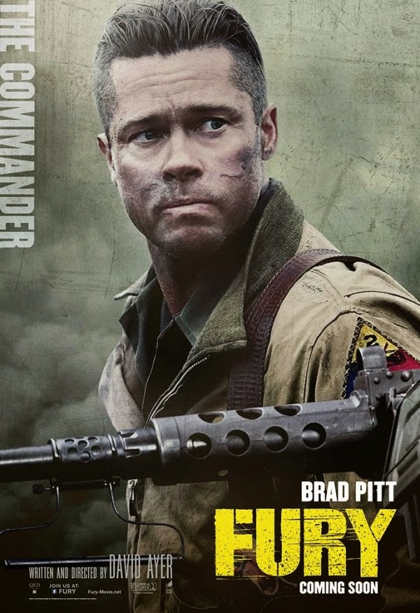 fury brad pitt