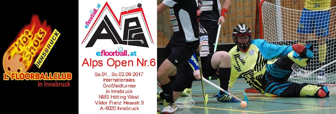 Alps Open Floorball Hockey