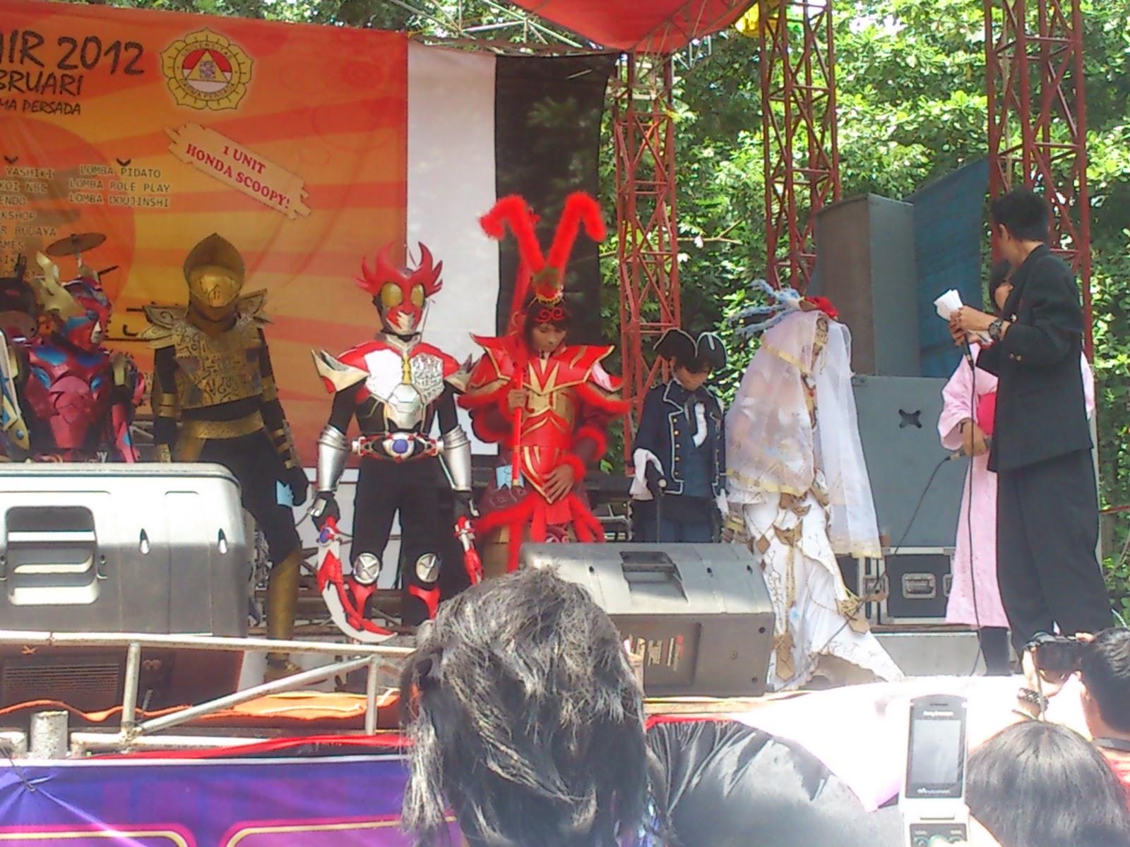 Japan Fair 2012 At Universitas Darma Persada Aditya