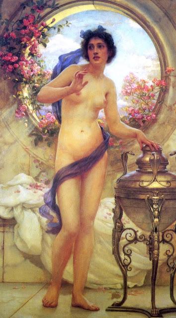 ernest normand,Pandora, art