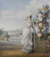 La roseraie de Joséphine au château de Malmaison (92)