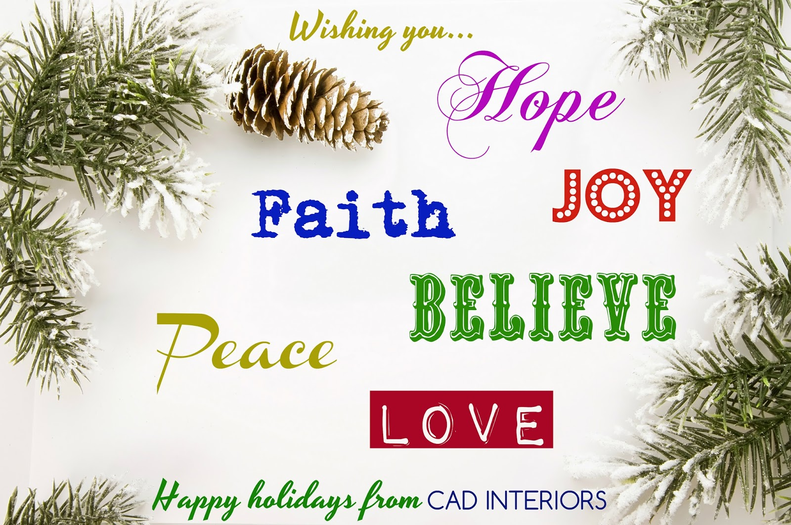 Cad interiors affordable stylish interiors christmas holiday greetings quotes sayings m4hsunfo
