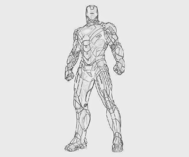 Iron Patriot Coloring Page Iron Man 2 Coloring Pages Page