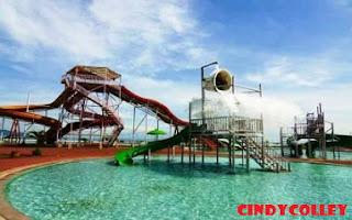 Rasakan keseruan bermain air dengan pemandangan pantai di waterpark Pangandaran!!