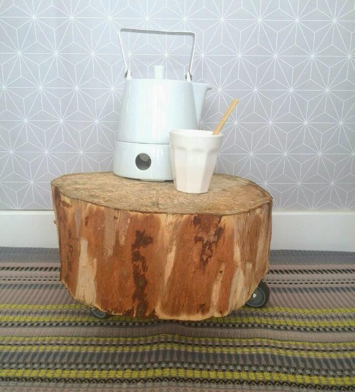 houten boomstam met wielen myJPK