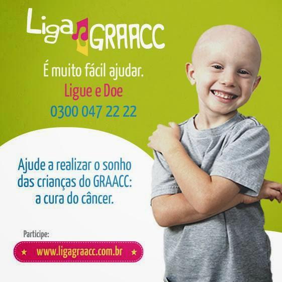 Doações para GRAACC - Hospital de Câncer Infantil
