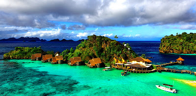 Misool Islands Indonesia tourist attraction
