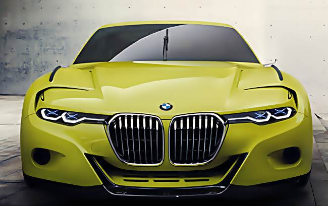 2016 BMW 3.0 CSL Hommage Redesign Concept