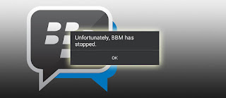 Cara Memperbaiki Unfortunately, BBM has stopped di Android
