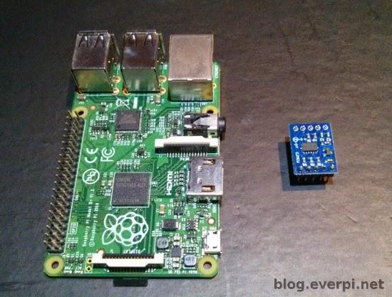 Raspberry Pi adxl345