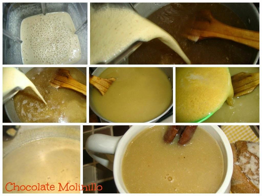 Atole de Guayaba en masa de maíz procedimiento