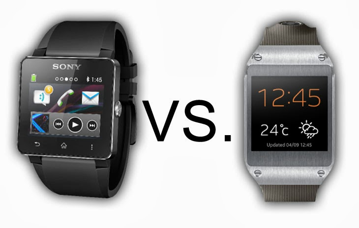 Sony SmartWatch 3 v Samsung Gear S - Wareable